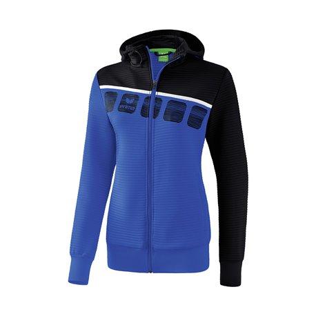 ERIMA 5-C Trainingsjacke mit Kapuze Damen