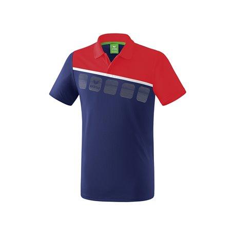 ERIMA 5-C Poloshirt Erwachsene